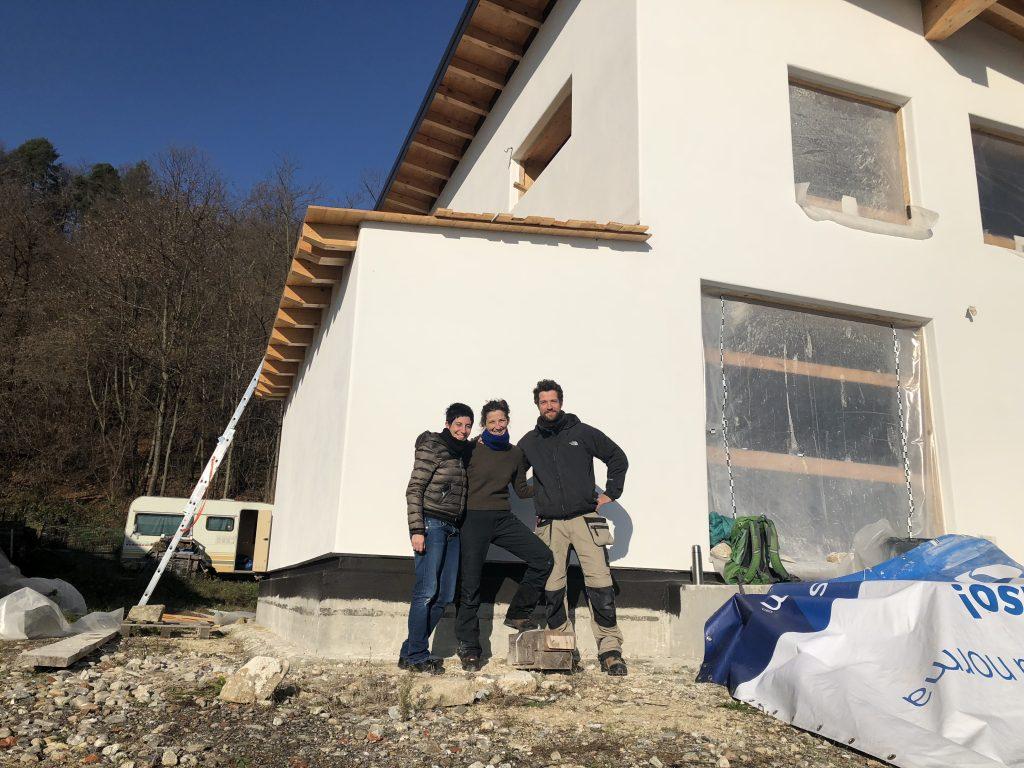 casa sole, una casa naturale di paglia